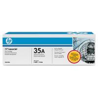 HP 35A (CB435AD) Black Toner Cartridges - Twin Pack