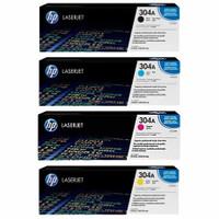 HP 304 (CC530A) Colour Toner Bundle Pack