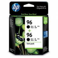 HP 96 (CC623AA) Black Ink Cartridge - Twin Pack