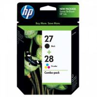 HP 27 / 28 (CC628AA) Ink Cartridges - Multi Pack