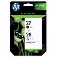 HP 27 / 28 (CC628AA) Ink Cartridges - Multi Pack