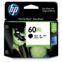 HP 60XL (CC641WA) Black Ink Cartridge - High Yield