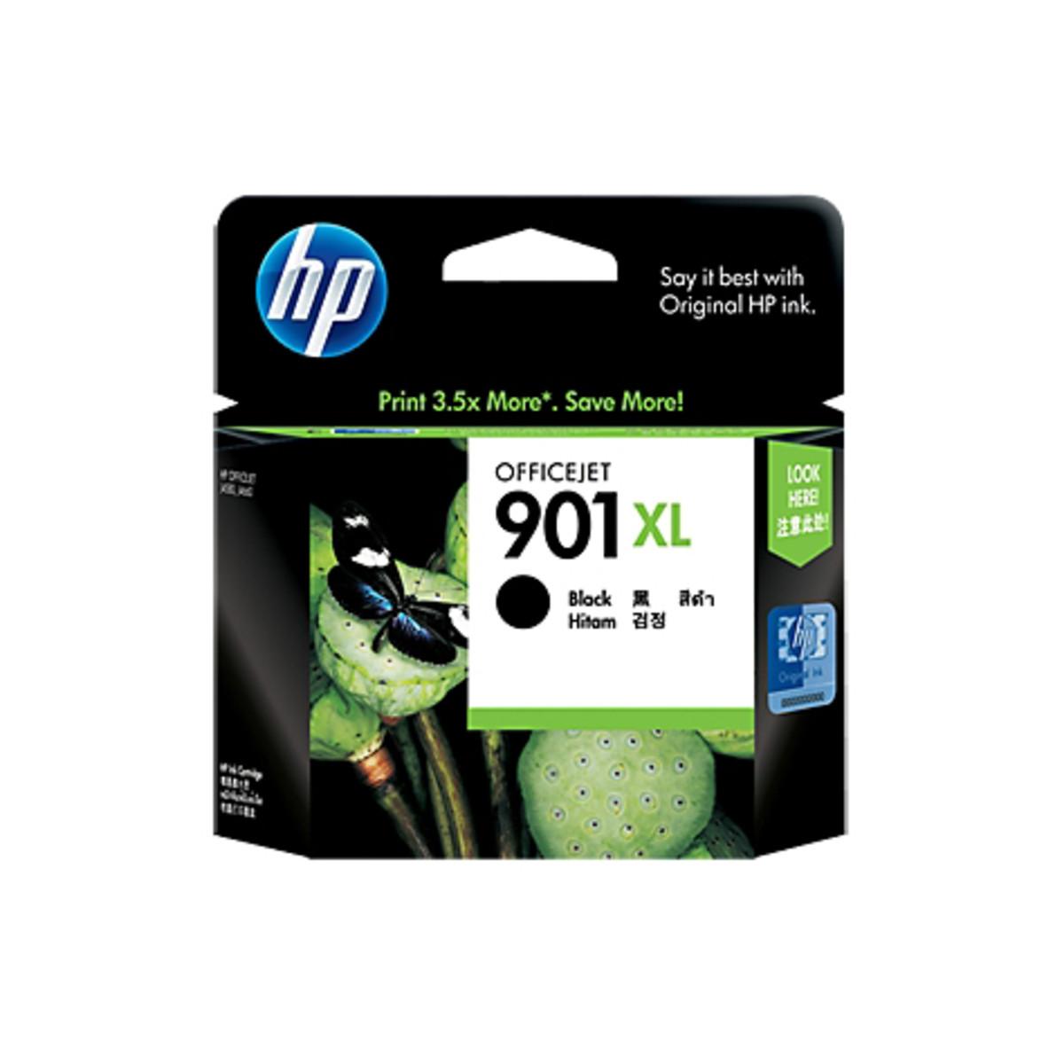 HP 901XL (CC654AA) Black Ink Cartridge - High Yield