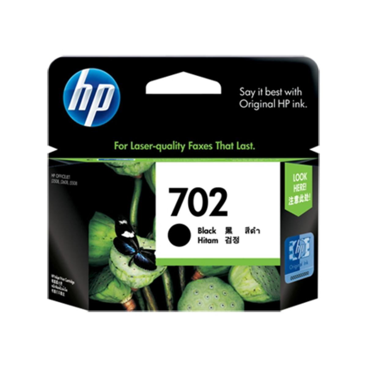 HP 702 (CC660AA) Black Ink Cartridge