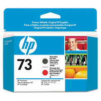 HP 73 (CD949A) Matte Black and Chromatic Red Ink Cartridge