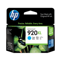 HP 920XL (CD972AA) Cyan Ink Cartridge - High Yield