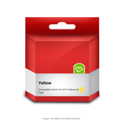 521 Yellow Ink Cartridge (Compatible)