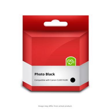 651XL Black Ink Cartridge (Compatible)