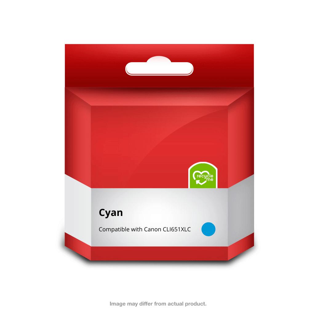 651XL Cyan Ink Cartridge (Compatible)