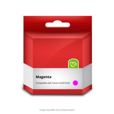 651XL Magenta Ink Cartridge (Compatible)