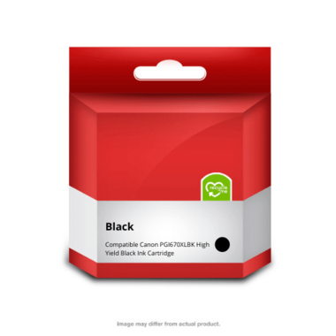 670XLBK Black Ink Cartridge (Compatible)