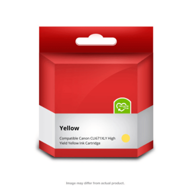 671XLY Yellow Ink Cartridge (Compatible)