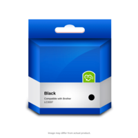 Brother Compatible LC3337BK Black Ink Cartridge