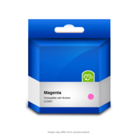 Brother Compatible LC3337M Magenta Ink Cartridge