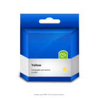 Brother Compatible LC3337Y Yellow Ink Cartridge
