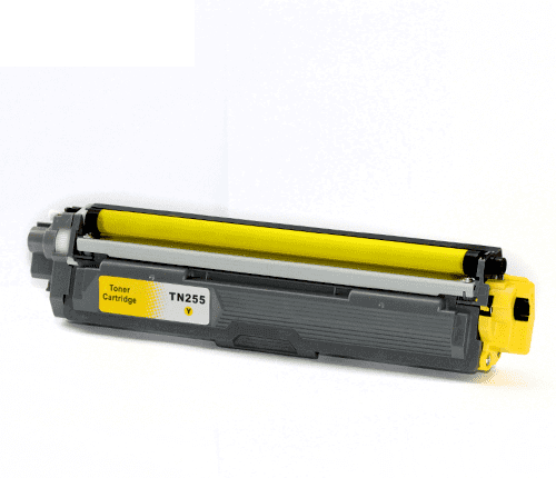 Brother TN255Y Yellow Toner Cartridge (Compatible)