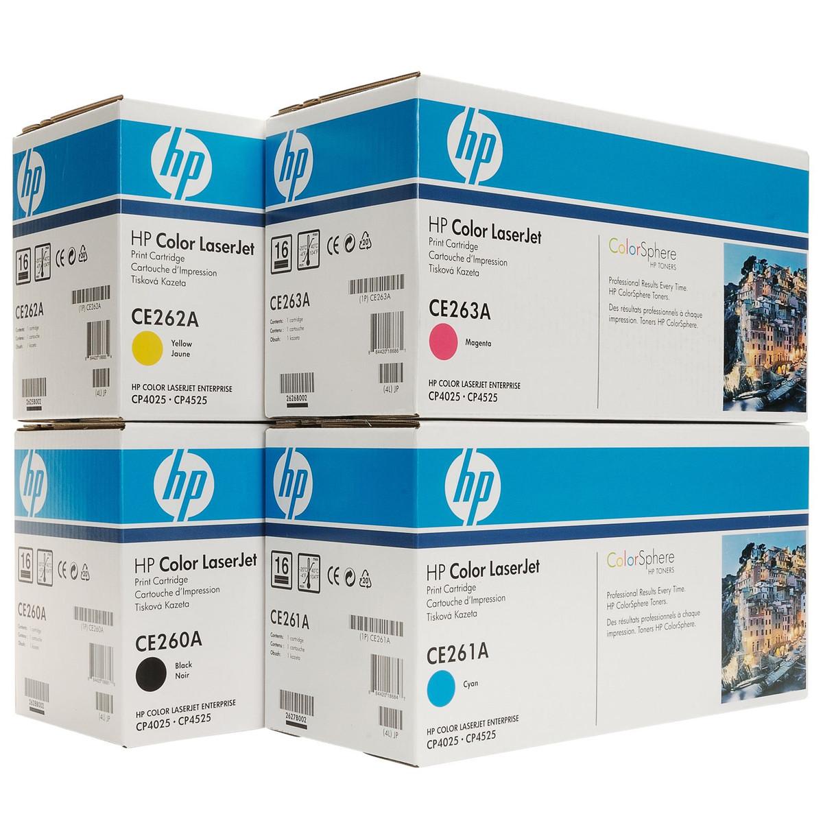 HP 647 (CE260A) Colour Toner Bundle Pack