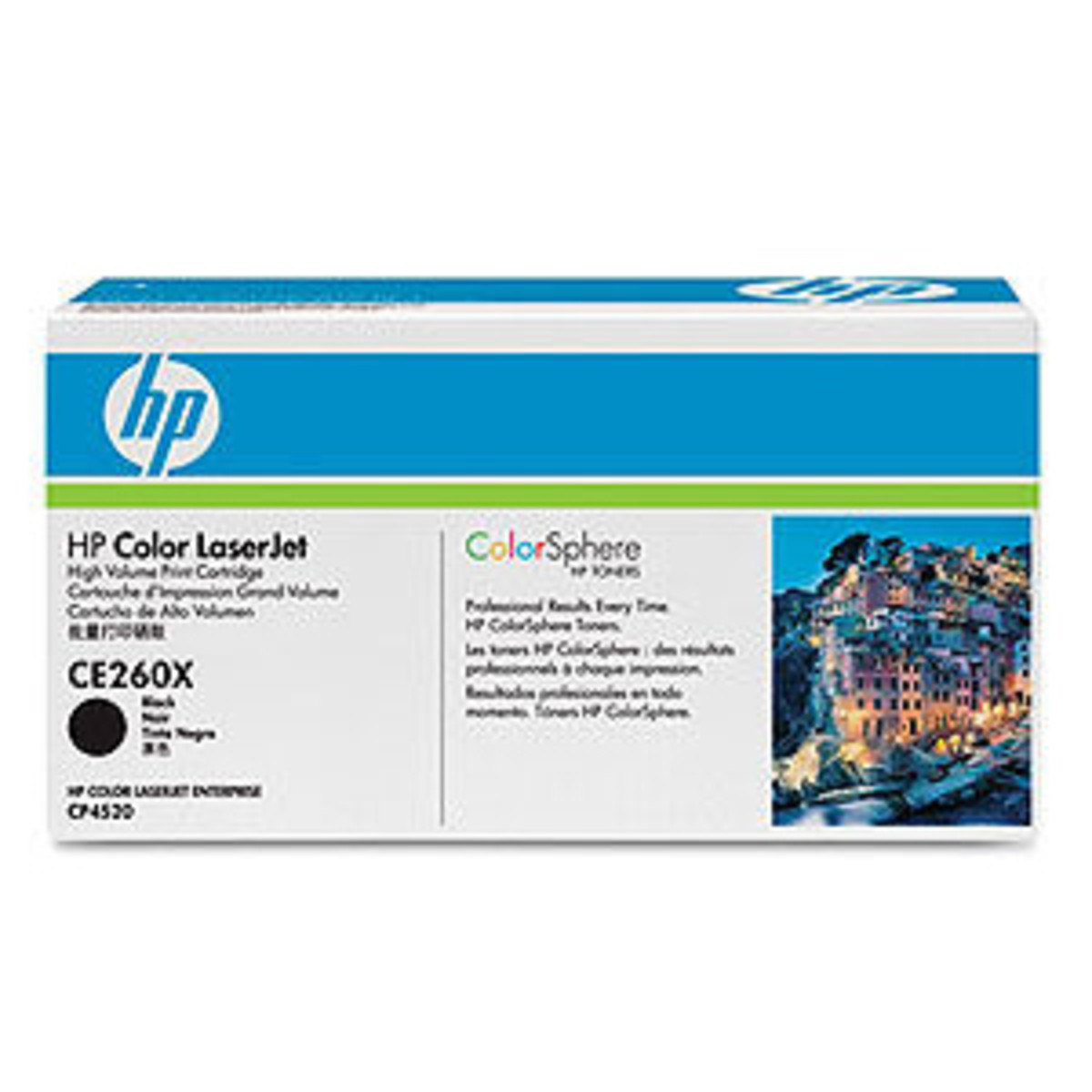 HP 649X (CE260X) Black Toner Cartridge - High Yield