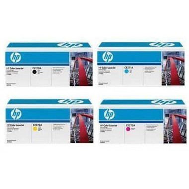 HP 650A Toner Cartridges Value Pack - Includes: [1 x Black, Cyan, Magenta, Yellow]