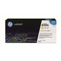 HP 650A (CE272A) Yellow Toner Cartridge