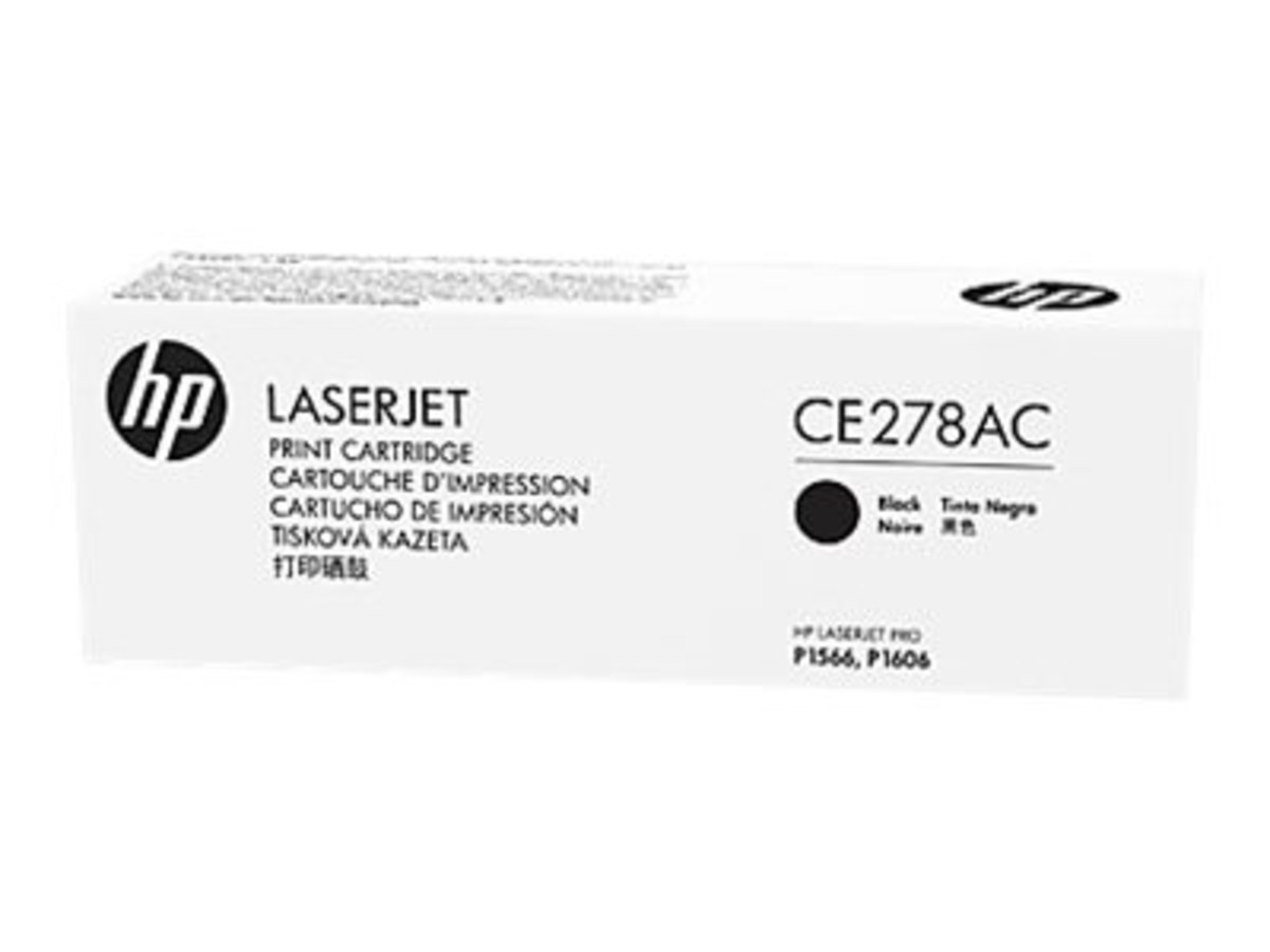 HP 78A (CE278A) Black Toner Cartridge - Contract Cartridge