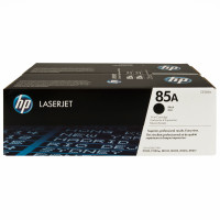 HP 85AD (CE285AD) Black Toner Cartridges - Twin Pack