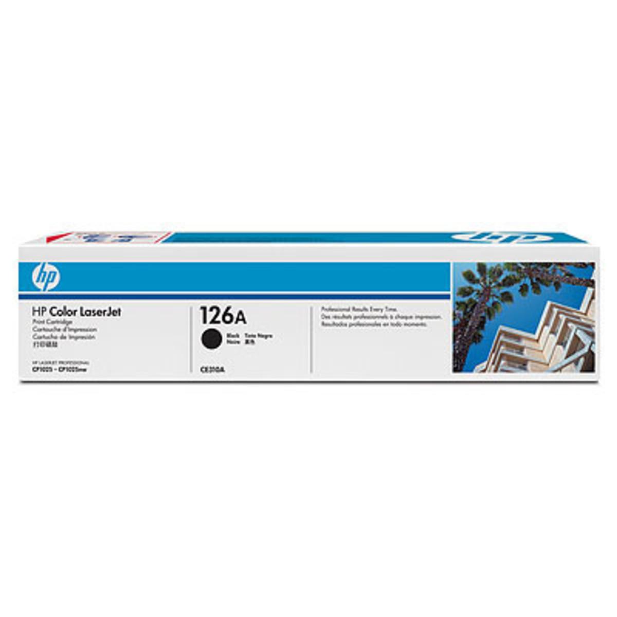 HP 126A (CE310A) Black Toner Cartridge