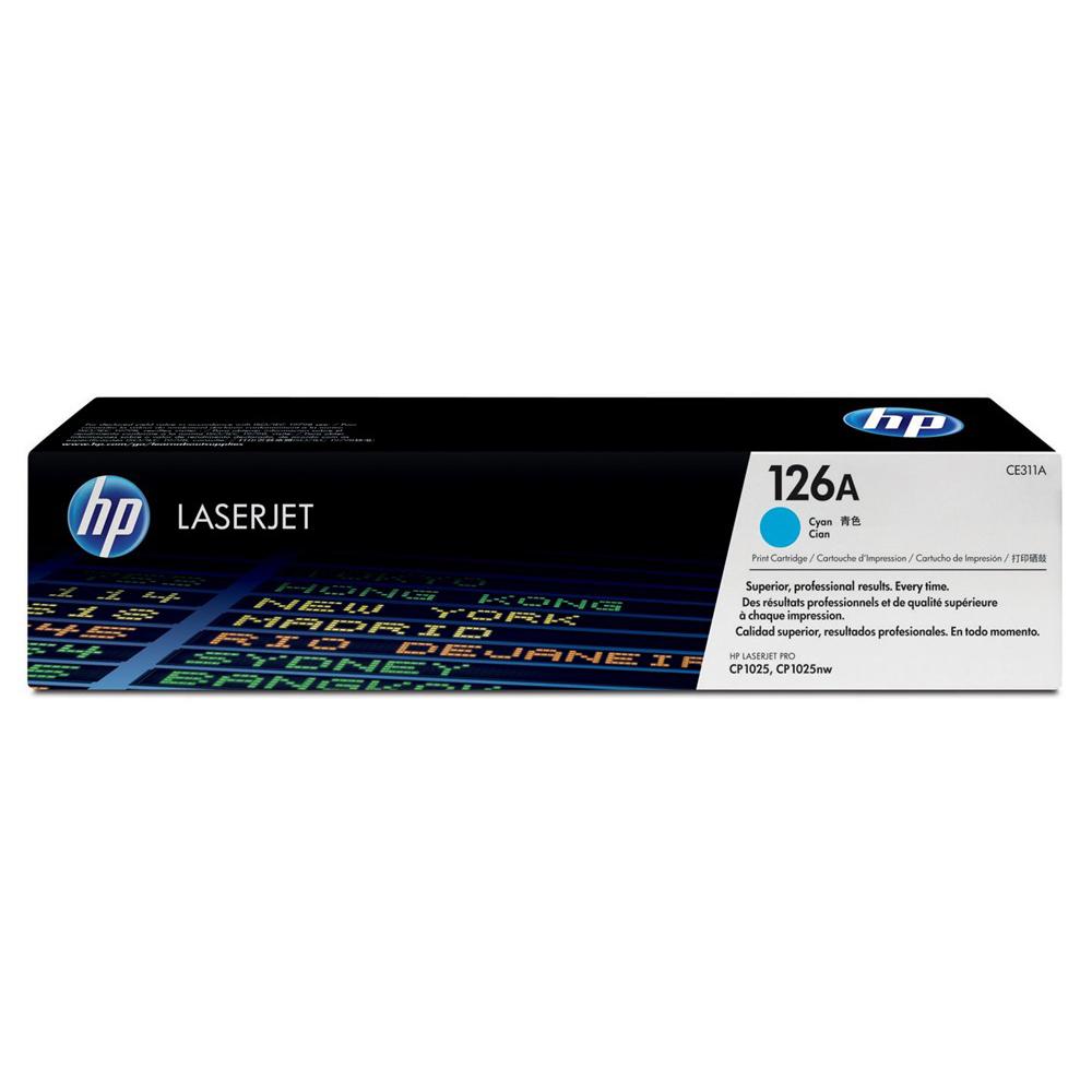 HP 126A Cyan Toner Cartridge (Original)