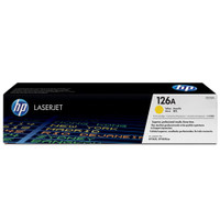 HP 126A (CE312A) Yellow Toner Cartridge
