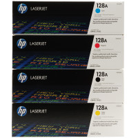 HP 128 (CE320A) Colour Toner Bundle Pack