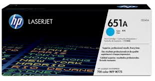 HP 651A Cyan Toner Cartridge (Original)