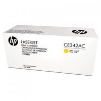 HP 651AC (CE342AC) Yellow Toner Cartridge - Contract Cartridge