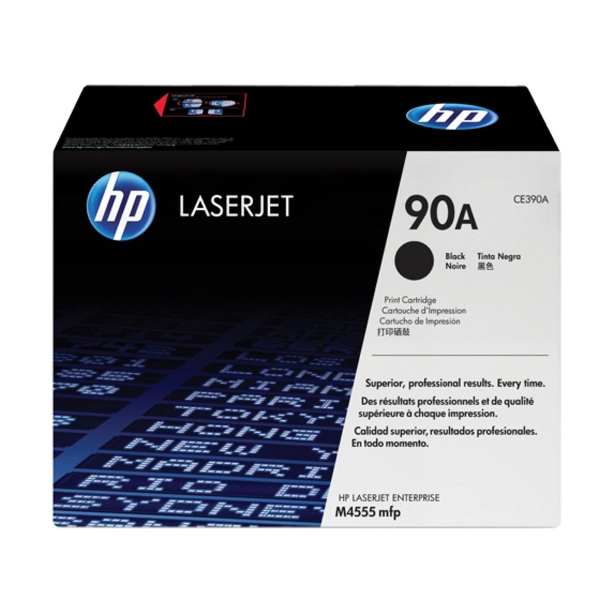 HP 90A (CE390A) Black Toner Cartridge
