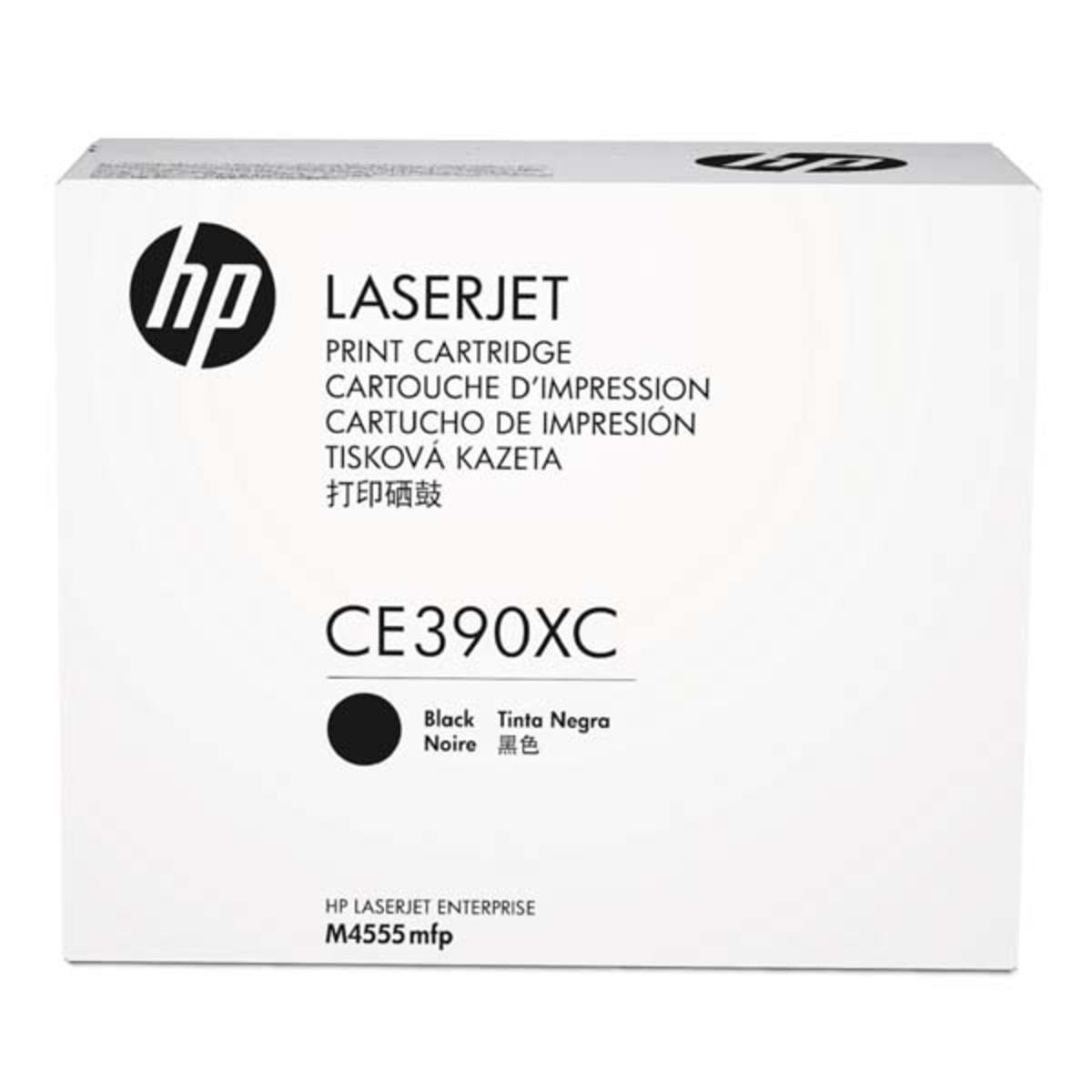 HP 90X (CE390XC) Black Contract Toner Cartridge - High Yield