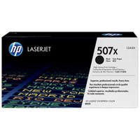 HP 507X (CE400X) Black Toner Cartridge - High Yield