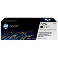 HP 305X (CE410X) Black Toner Cartridge - High Yield