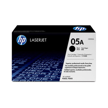 HP 05A Black Toner Cartridge (Original)