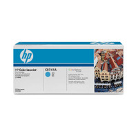HP 307A (CE741A) Cyan Toner Cartridge