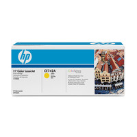 HP 307A (CE742A) Yellow Toner Cartridge