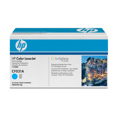 HP 646A (CF031A) Cyan Toner Cartridge