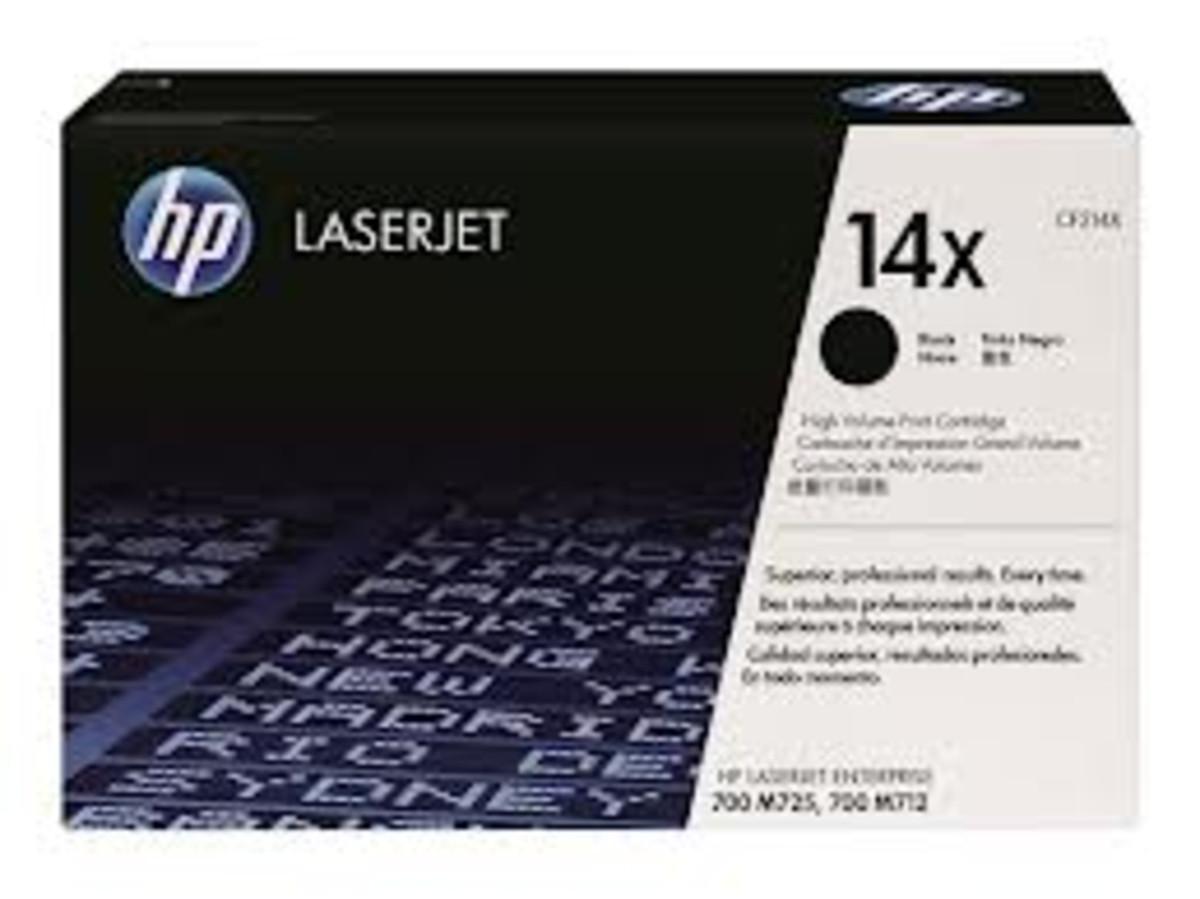 HP 14X (CF214X) Black Toner Cartridge - High Yield