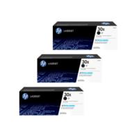 HP 30X Toner Cartridges Value Pack - Includes: [3 x Black]