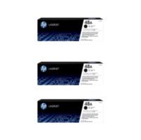 HP 48A Toner Cartridges Value Pack - Includes: [3 x Black]