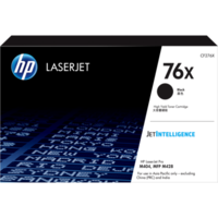 HP 76X Black Original LaserJet Toner Cartridge (CF276X)
