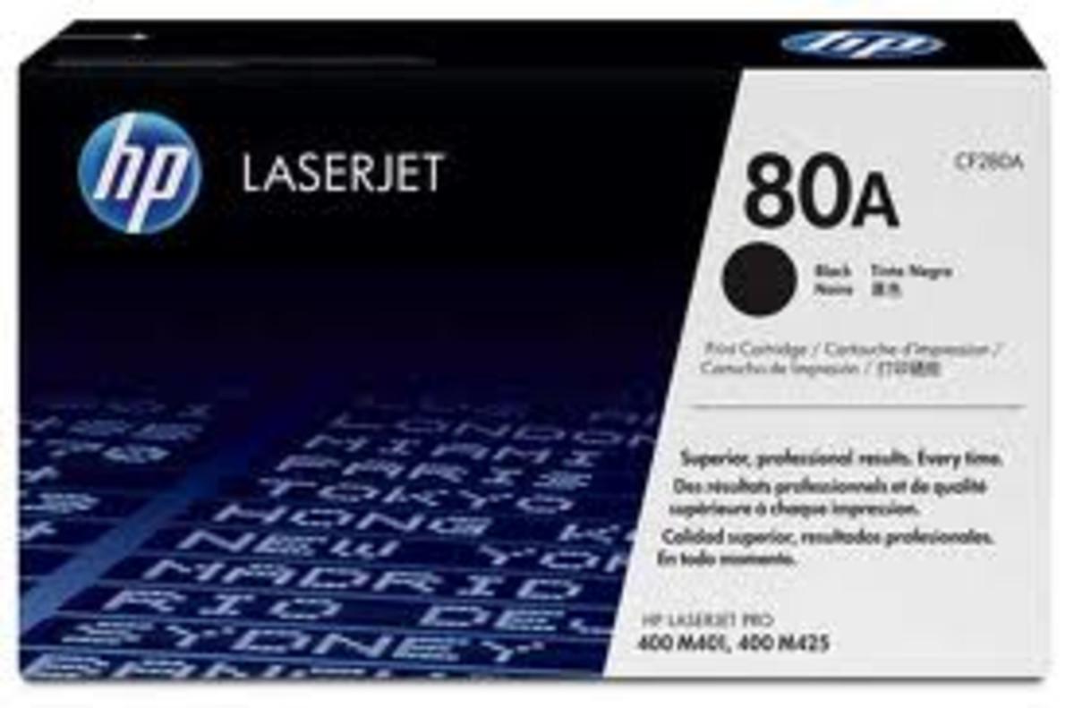HP 80A (CF280A) Black Toner Cartridge