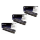 HP 83A Toner Cartridges Value Pack - Includes: [3 x Black]