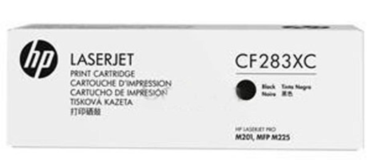 HP 83XC (CF283XC) Black Toner Cartridge - Contract Cartridge