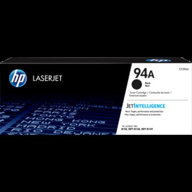 HP 94A Black Original LaserJet Toner Cartridge (CF294A)