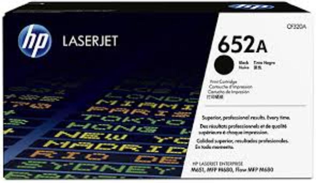 HP 653A (CF320A) Black Toner Cartridge