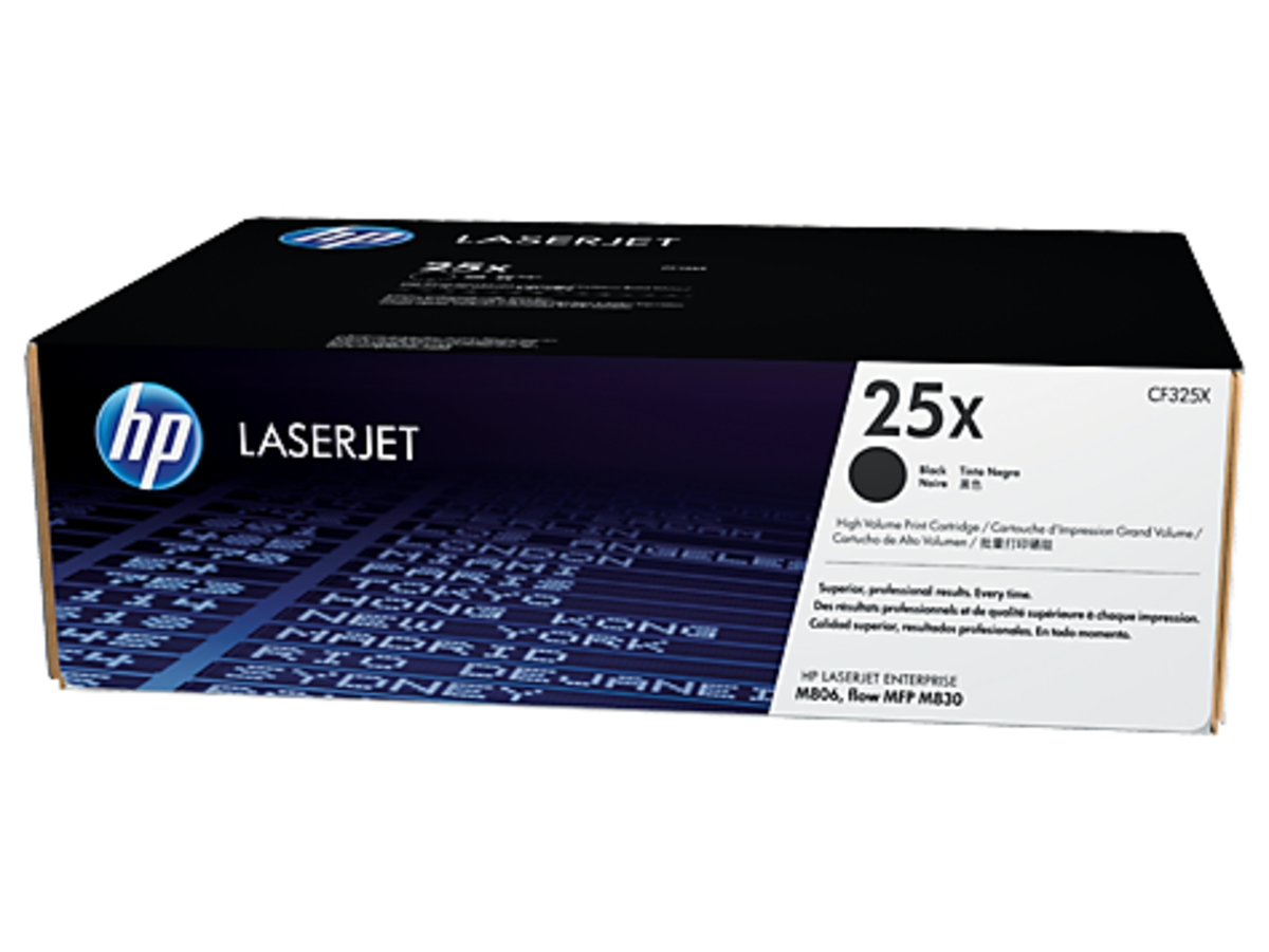 HP 25X (CF325X) Black Toner Cartridge - High Yield